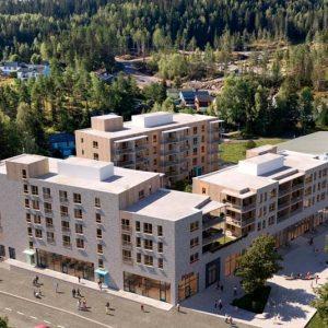Neste måned starter byggingen av 60 leiligheter