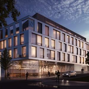 Oxer Eiendom bygger Drammens mest moderne næringsbygg